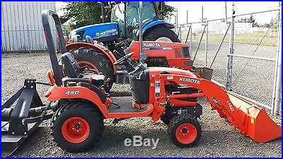 BARELY USED 2013 Kubota BX2360RV Tractor INCLUDES Front Loader and Mower