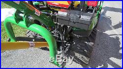 BRAND NEW JOHN DEERE 1025R 4X4 COMPACT UTILITY TRACTOR With LOADER 25HP HYDRO