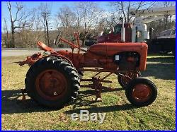 B Model Allis-Chalmers Cultivating Tractor