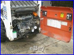 Bobcat 763 Skidsteer Kubota Diesel Engine Skid Steer Loader Tractor