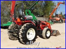 Branson 3820I 4x4 Ag Utility Tractor 3 pt Hitch Loader Bucket Diesel Aux bidadoo