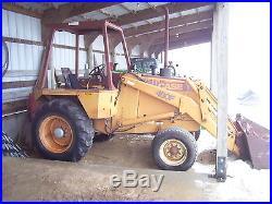 Case 480f loader tractor skidsteer