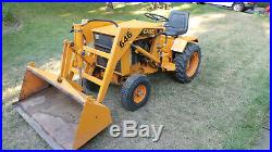 Case 646 Compact Tractor
