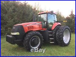 Case IH magnum tractor 305 excellent 4 remotes, rear duals 80% tires no emissions
