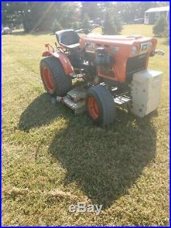 Clean kubota B6100 Belly Mower Diesel tractor Clean CAN SHIP CHEAP
