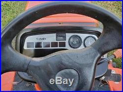 Clean kubota BX2200 4x4 60 belly mower Diesel tractor Clean CAN SHIP CHEAP