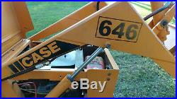 Compact Case 646 Case 648 Loader Tractor