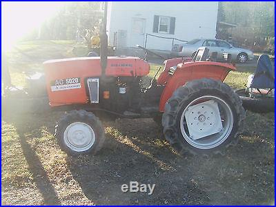 Compact ag tractor allis chalmers