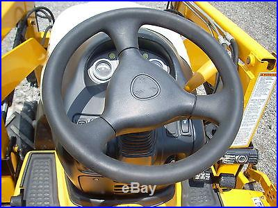 Cub Cadet 5264D Diesel Sub Compact Tractor Loader and 60 Belly Mower 4WD 210hrs
