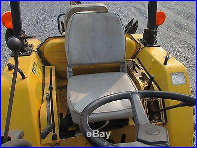 Cub Cadet 7300 4x4 Compact Tractor Loader Backhoe