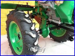Cultivator Tiller Agrotech 16HP 12kW big wheels warranty ploughs petrol NEW