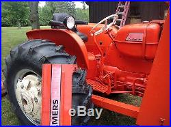 D-17 Allis Chalmers with Factory hydraulic loader and Oxnard rear scraper