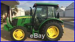 Diesel farm tractor 4 x 4 Cab & AC 75 HP no reserve