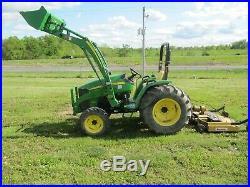 Estate Sale 2010 John Deere 4105 -300cx Loder & Attachments