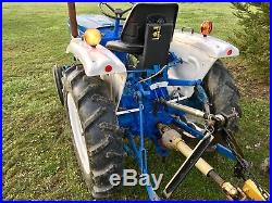 FORD 1510 Compact Diesel Utility Tractor Low Hours! Ready To Work! 3 Point Hitch