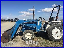 Ford 1520 4x4 Compact Diesel Tractor Hydrostatic Low Hr. Low Cost Shipping Rates