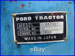 Ford 1600 Diesel 2wd 3 Point Hitch P. T. O. / Nationwide Shipping Available