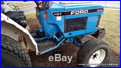 FORD 1620 Tractor 4WD Diesel 27HP Hydrostatic Drive MID PTO 3 point Draw Bar