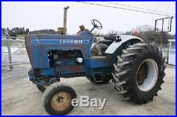 FORD 8000 TRACTOR, FACTORY OPEN STATION, 117 HP DIESEL, ONE REMOTE CLEAN TRACTOR