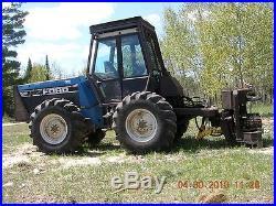 FORD VERSATILE 9030 Forestry Diesel Tractor 4x4 18.4-26 Skidder Tires Snowplow