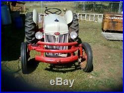 Farm Tractor 1950 Ford 8N