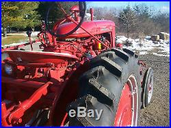 Farmall 100 HI Crop Antique Tractor NO RESERVE international deere allis oliver