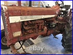 Farmall 1206 International Tractor, Factory T/A Delete, 3pt, 2 hyd, Iowa