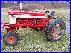 Farmall International 560 Tractor Gas Wide Front Runs Great 460 340 M A BN C H