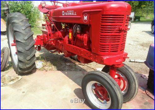 Farmall M tractor NO RESERVE