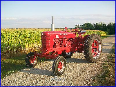 Farmall SMTA Diesel Antique Tractor NO RESERVE International Harvestor