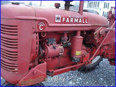Farmall Super C 1952 model very nice