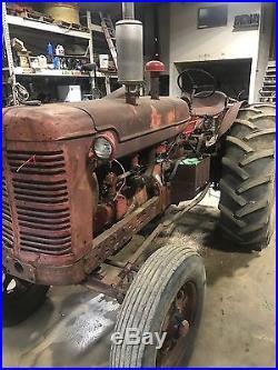 Farmall Super W-6 TA Tractor