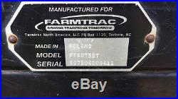 Farmtrac Tractor FT8075DT 4x4, A/C