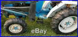 Ford 1720 tractor Loader finishing mower