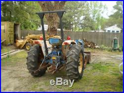 Ford 1910 tractor with loader