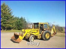 Ford 340 Industrial Loader Backhoe Tractor Diesel NO RESERVE allis deere farmall