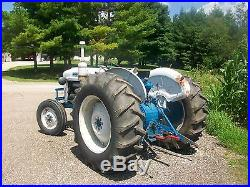 Ford 4000 Diesel Antique Tractor NO RESERVE Reverser 2000 8N 9N Farmall Deere