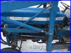 Ford 4000 Tractor Loader