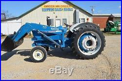 Ford 4000 diesel tractor with front end loader