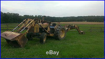 Ford 4500 Tractor with 740 Loader and 755 Backhoe