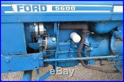 Ford 5600 diesel farm tractor