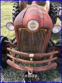 Ford 641 Workmaster Tractor Good Rear Tires One New Front, Gas Engine 12volt