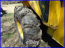 Ford 6500 Tractor Loader NICE RUNS EXC. TURBO DIESEL 555 Utility