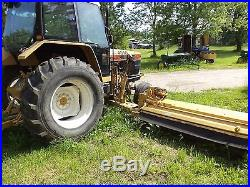 Ford 6640 tractor with tiger ditch mower, diesel, all hdy