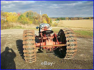 Ford 9N 6 Cylinder Funk Antique Tractor NO RESERVE Half Tracks Ferguson Farmall
