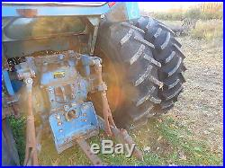 Ford TW-15 Farm Tractor RUNS EXC. VIDEO! Dsl. P/S 3 PT DUALS! TW15