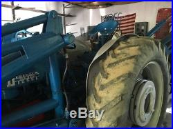 Fordson Major Diesel Tractor with Wagner Backhoe And Front Loader