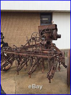 IH Antique Motorized Cultivator