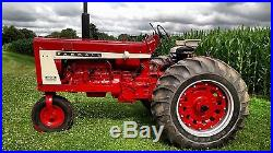 IH Farmall 806 Gas Tractor New Paint OH'd Motor NO RESERVE