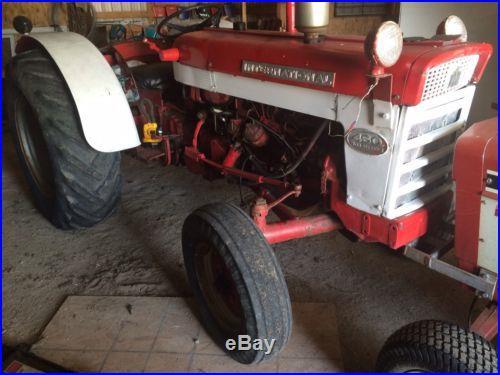 International Harvester Ih Farmall Wheatland Diesel Tractor Rare Qe